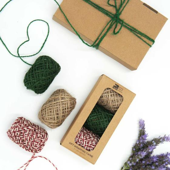 Wrap accessories pack, mixed hemp string product photo Back View -  - additional image 2 L