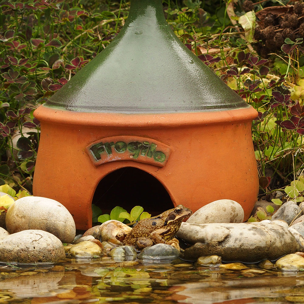Frogilo frog and toad shelter product photo