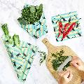 Beeswax food wrap pack of 3, puffin product photo Side View -  - additional image 3 T