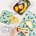 Beeswax food wrap, puffin product photo Front View - additional image 1 T