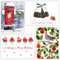 Fab forty RSPB charity Christmas cards - 40 pack 2020 product photo Front View - additional image 1 T