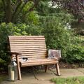 Two seater bench - RSPB Garden furniture, Lodge Collection product photo