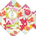 Reusable food wraps, mixed size triple pack product photo