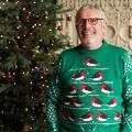 Robin Christmas jumper - RSPB exclusive product photo