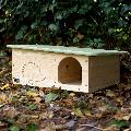 RSPB Silhouette hedgehog home product photo Front View - additional image 1 T