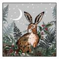 Silent night RSPB charity Christmas cards - 20 pack product photo Side View -  - additional image 3 T